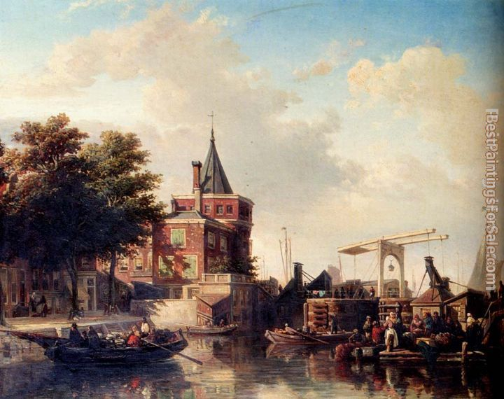 Elias Pieter van Bommel Paintings for sale