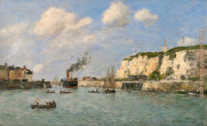 Eugene Boudin Paintings for sale