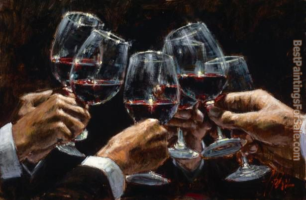 Fabian Perez Paintings for sale