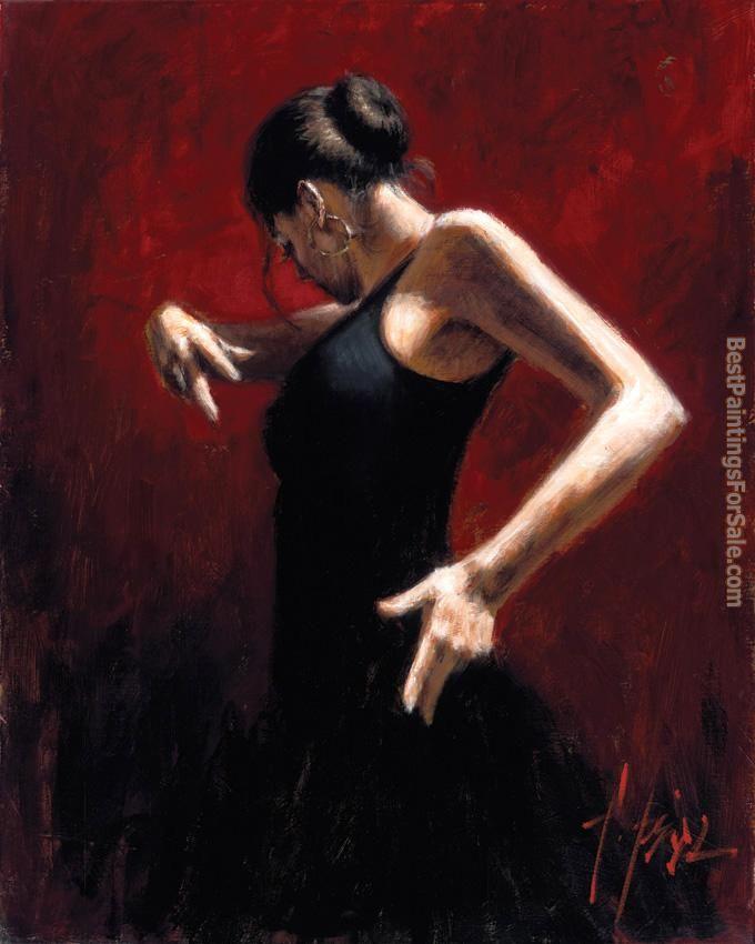 Flamenco Dancer Paintings For Sale