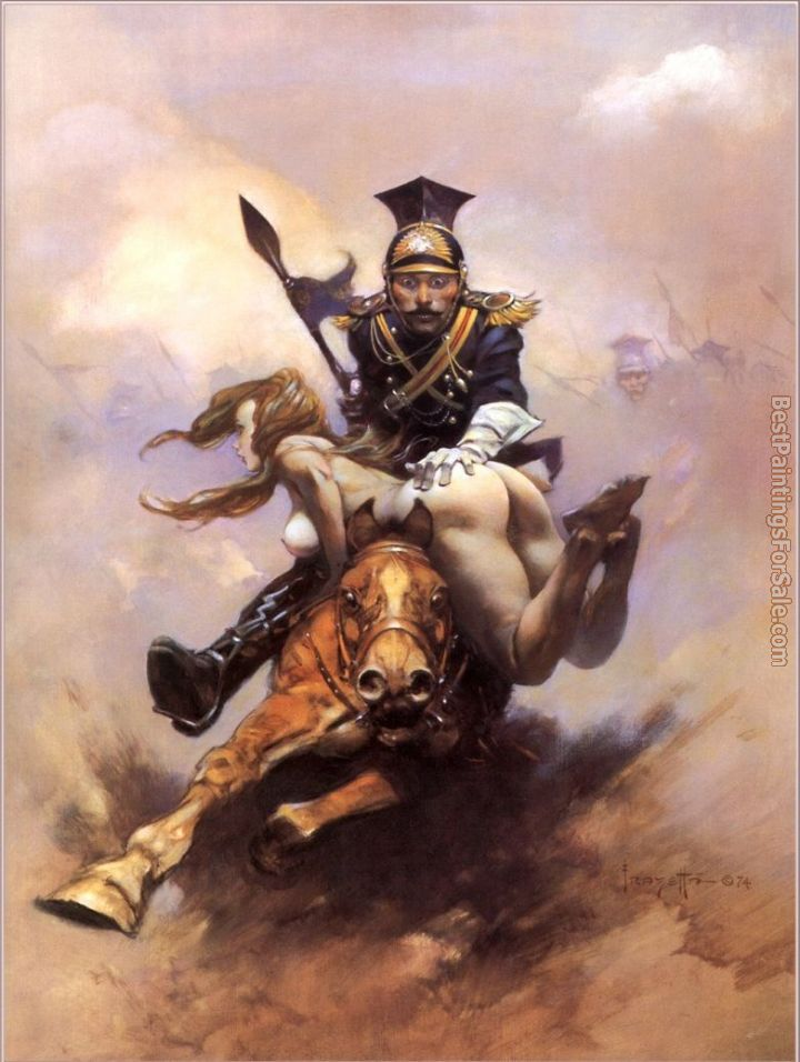 Frank Frazetta Paintings for sale