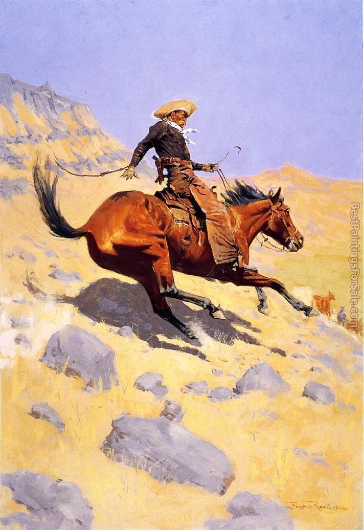 Frederic Remington Paintings for sale