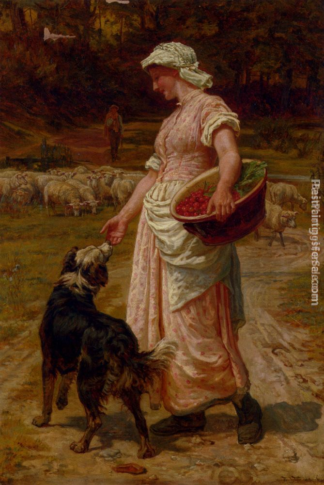 Frederick Morgan Paintings for sale