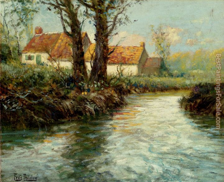 Fritz Thaulow Paintings for sale