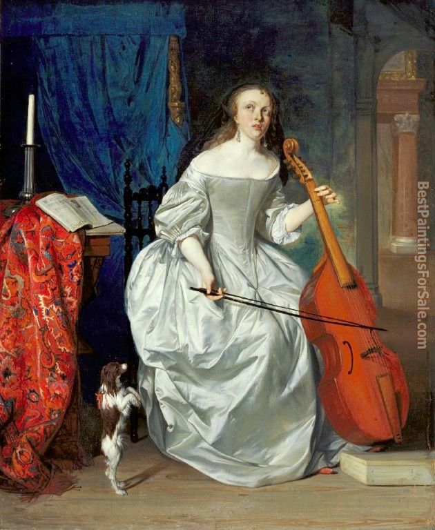 Gabriel Metsu Paintings for sale