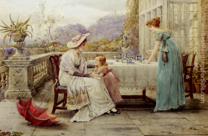 George Goodwin Kilburne Paintings for sale