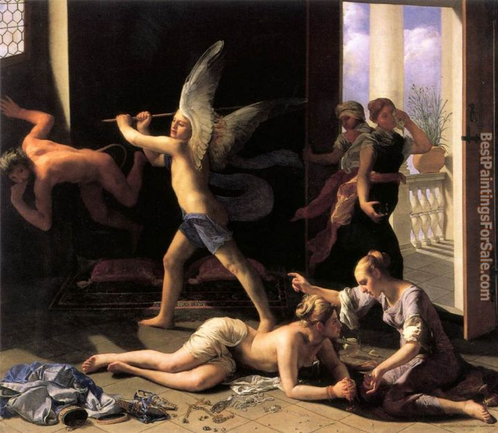 Guido Cagnacci Paintings for sale