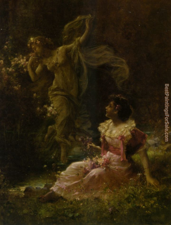 Hans Zatzka Paintings for sale
