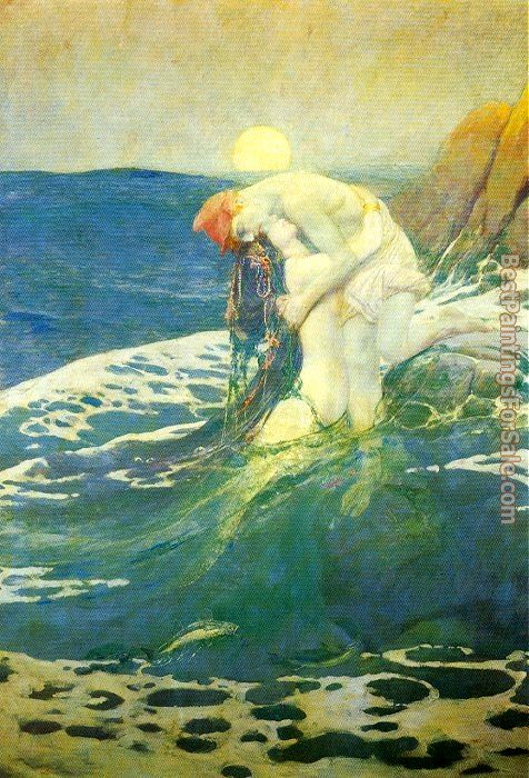 Howard Pyle Paintings for sale