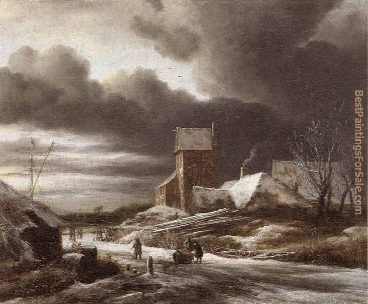 Jacob van Ruisdael Paintings for sale