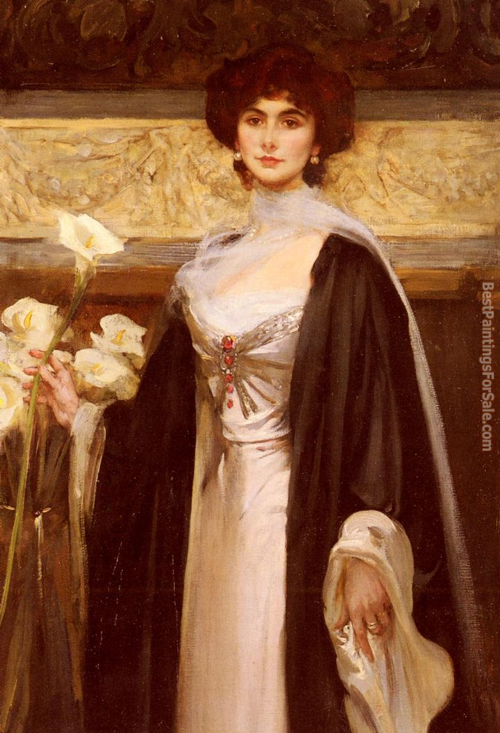 James Jebusa Shannon Paintings for sale