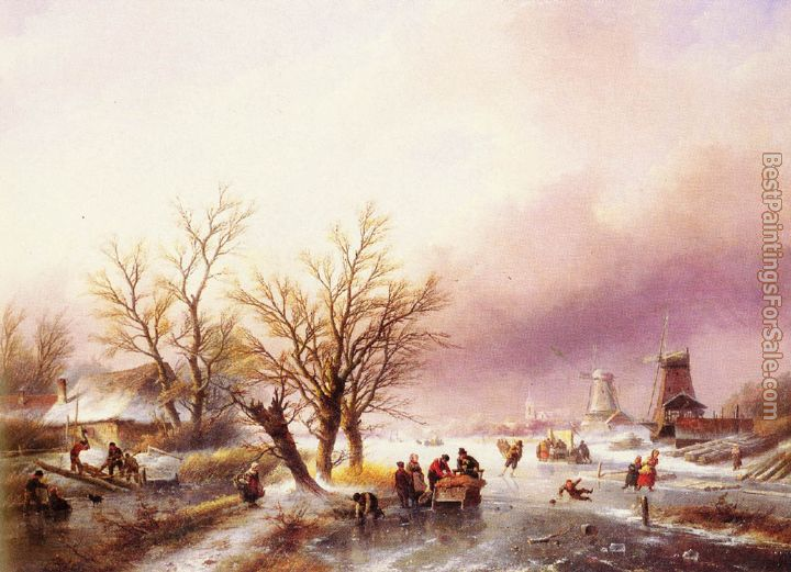 Jan Jacob Coenraad Spohler Paintings for sale