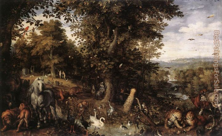 Jan the elder Brueghel Paintings for sale