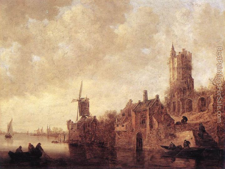 Jan van Goyen Paintings for sale