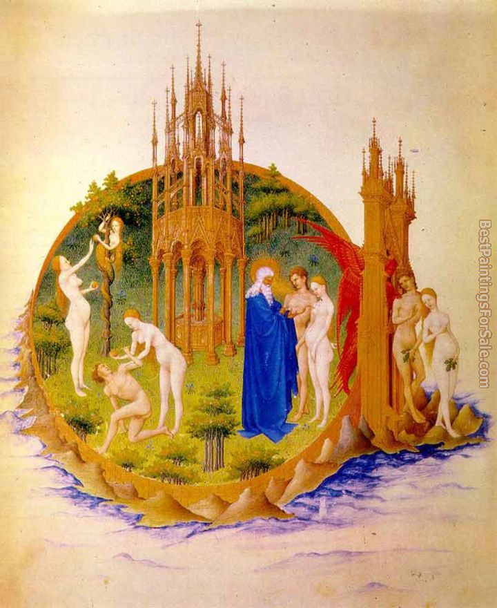 Jean Limbourg Paintings for sale