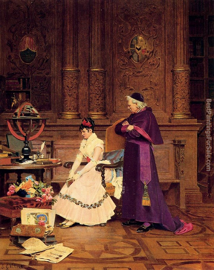 Jehan Georges Vibert Paintings for sale