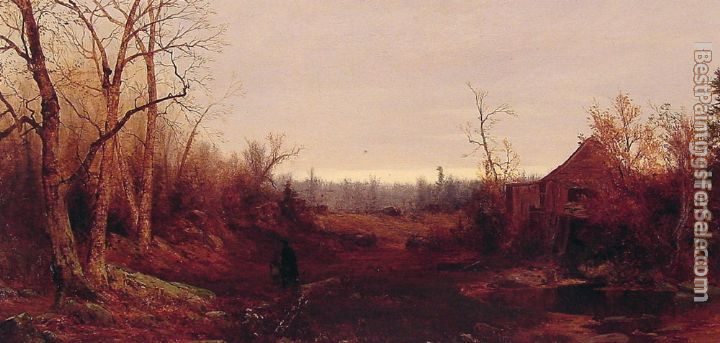 Jervis McEntee Paintings for sale
