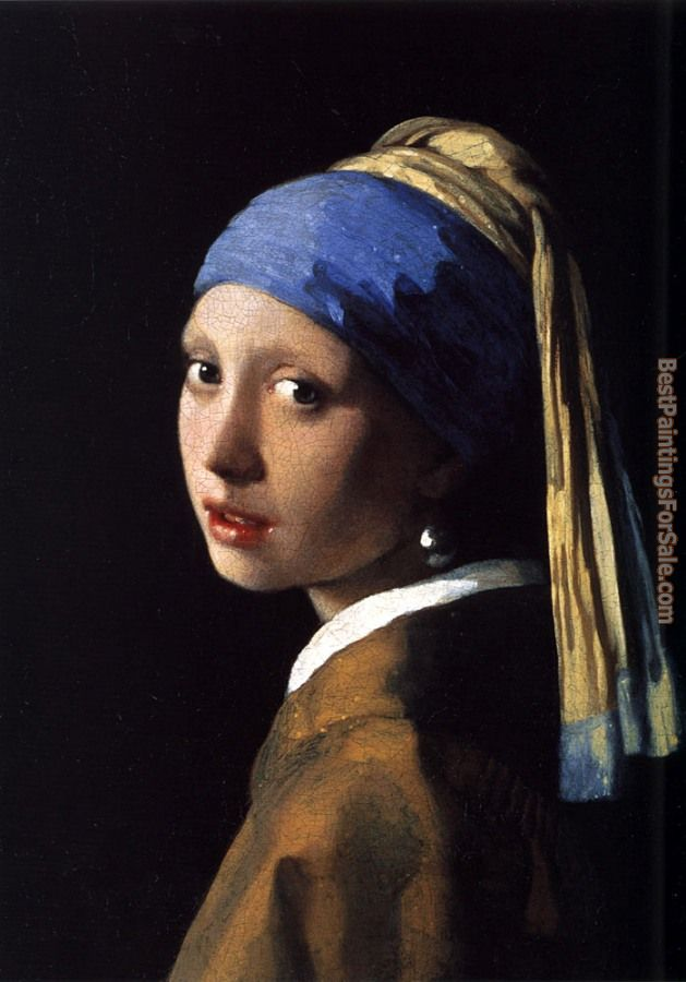 Johannes Vermeer Paintings for sale