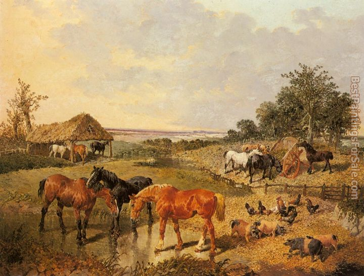 John Frederick Herring, Jnr Paintings for sale