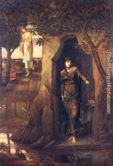 John Melhuish Strudwick Paintings for sale