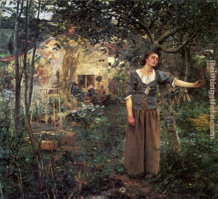Jules Bastien-Lepage Paintings for sale