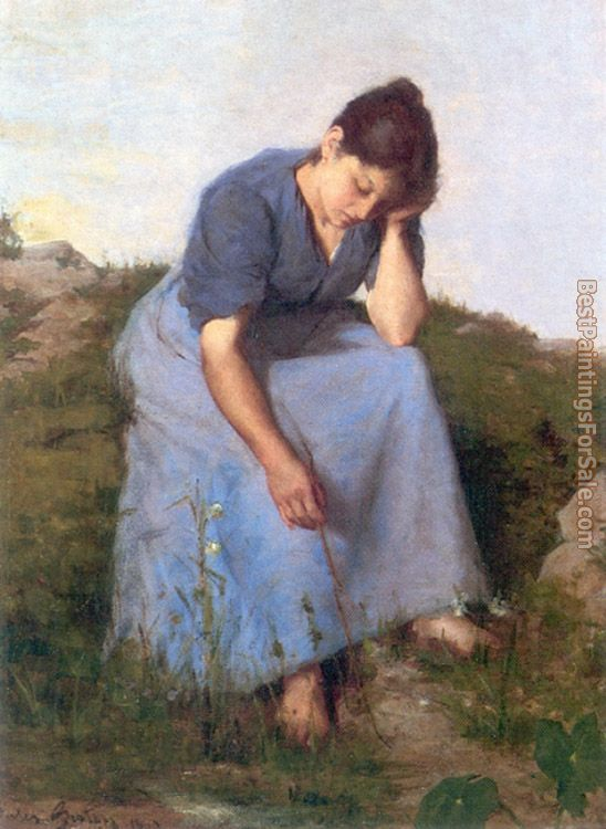 Jules Breton Paintings for sale