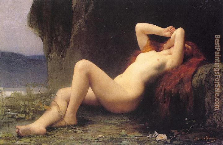 Jules Joseph Lefebvre Paintings for sale