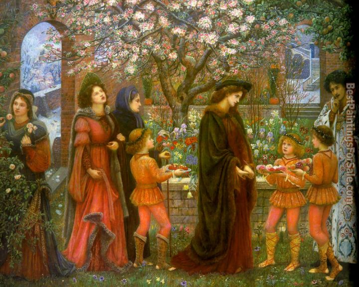 Maria Spartali Stillman Paintings for sale