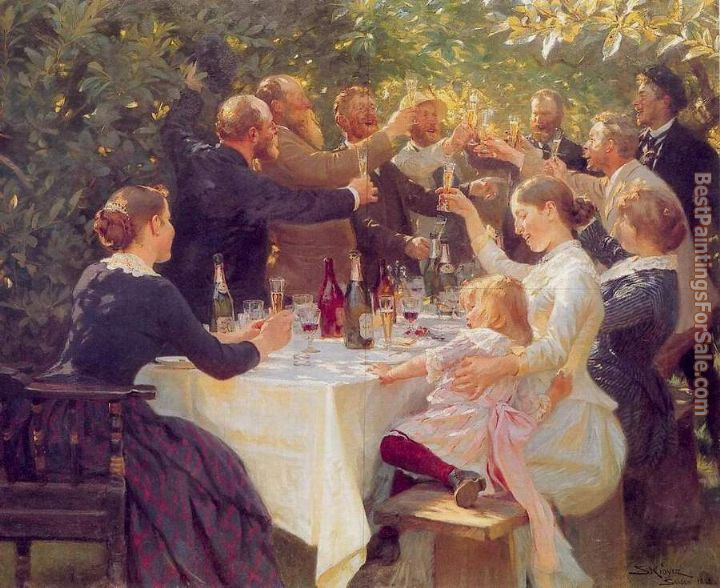 Peder Severin Kroyer Paintings for sale