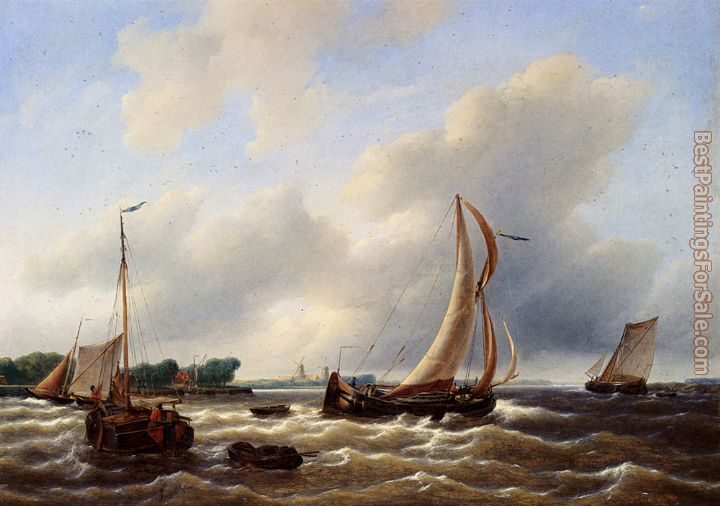Petrus Jan Schotel Paintings for sale