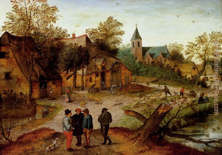 Pieter the Younger Brueghel Paintings for sale