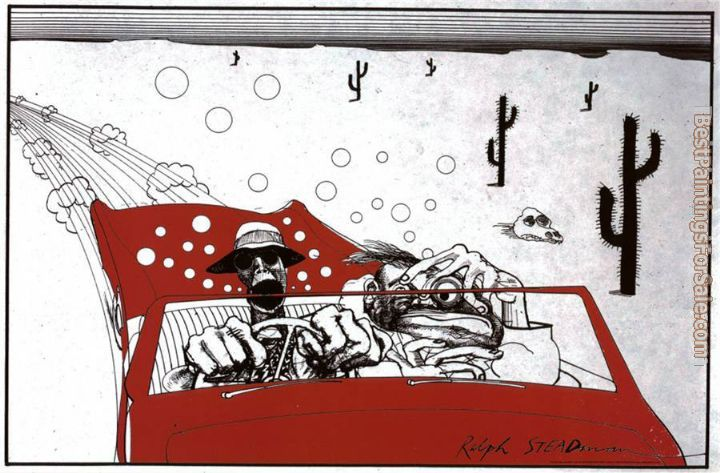 Ralph Steadman Art Paintings for sale
