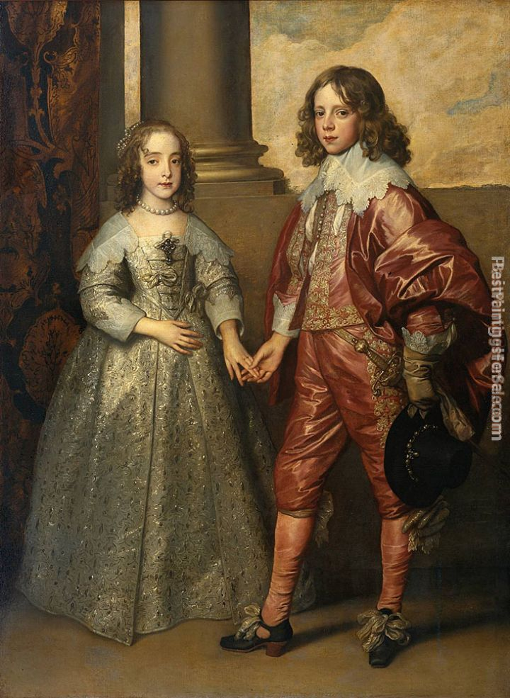Sir Antony van Dyck Paintings for sale