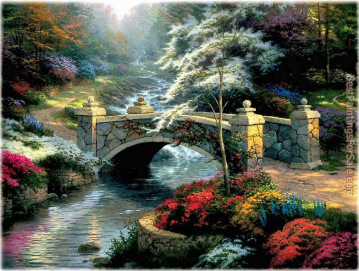 Thomas kinkade paintings for sale thomas kinkade art for for Prints of famous paintings for sale
