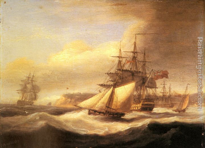 Thomas Luny Paintings for sale