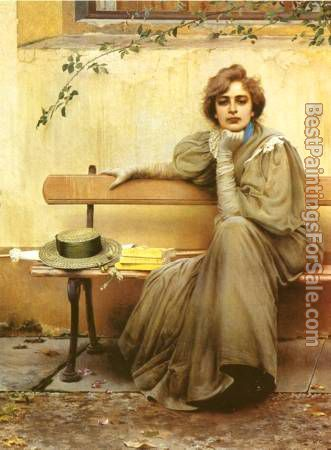 Vittorio Matteo Corcos Paintings for sale