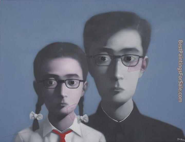 Zhang Xiaogang Paintings for sale