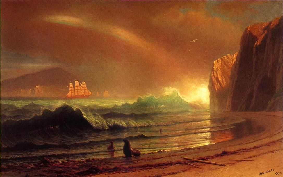 Albert Bierstadt The Golden Gate