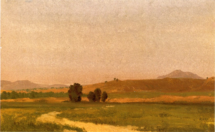 Albert Bierstadt Nebraska On the Plains