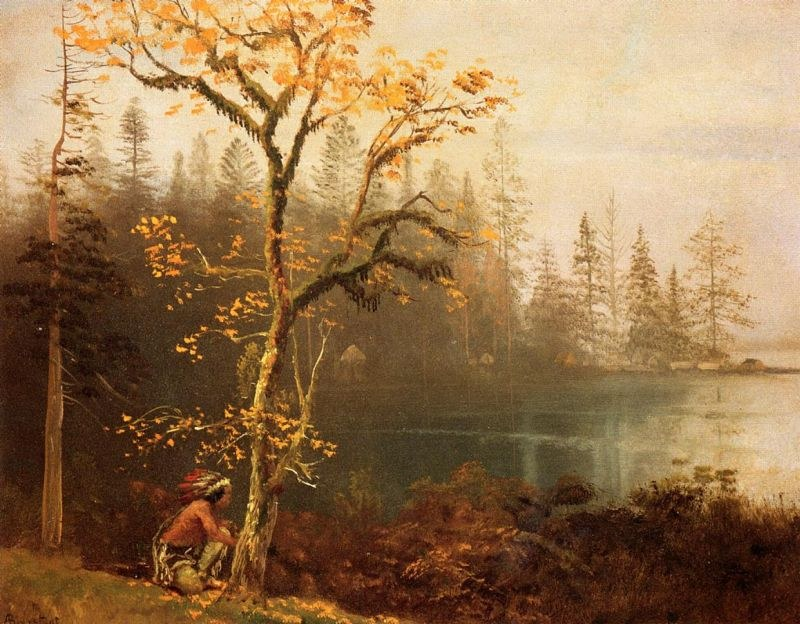Albert Bierstadt Indian Scout