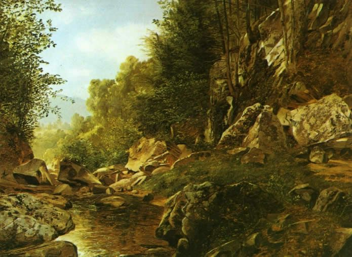 Alexander Helwig Wyant In the Catskills
