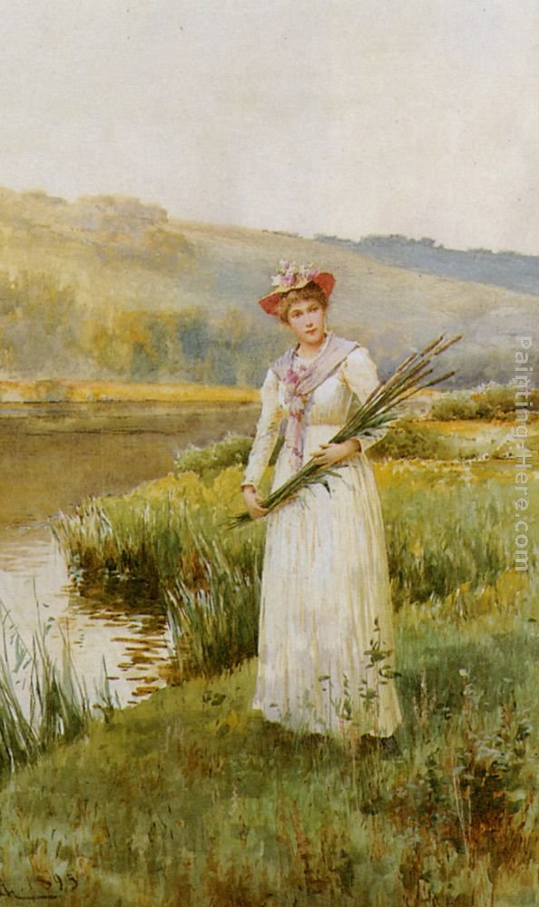 Alfred Glendening Across the Meadow
