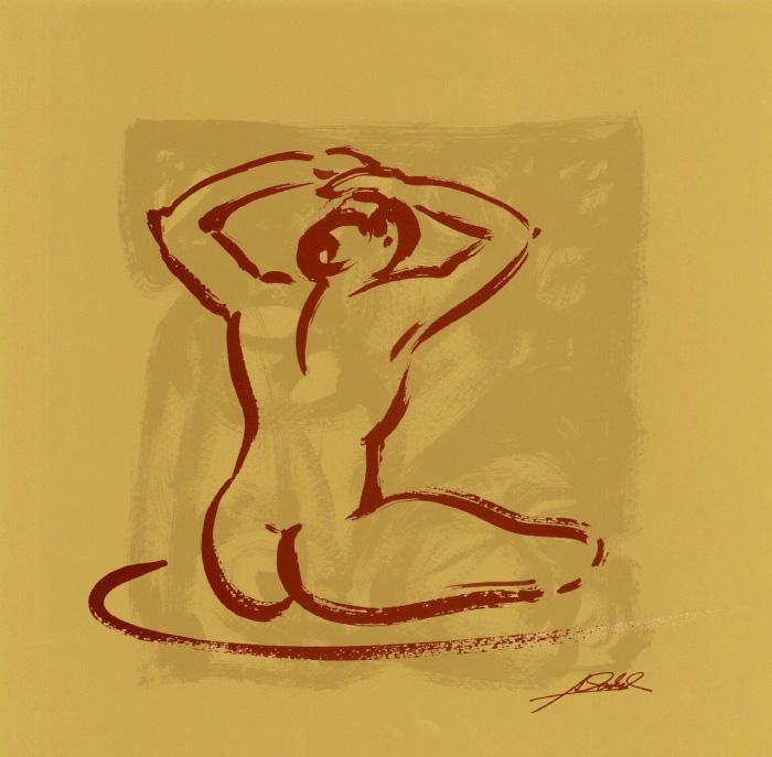 Alfred Gockel Body Language I (gold)