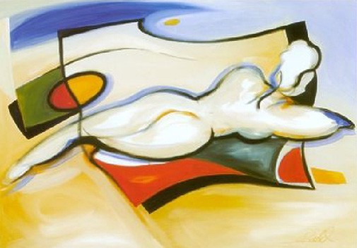 Alfred Gockel Nude On Beach