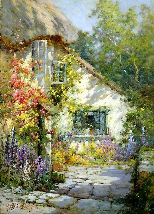 Alfred de Breanski A Home in Devon