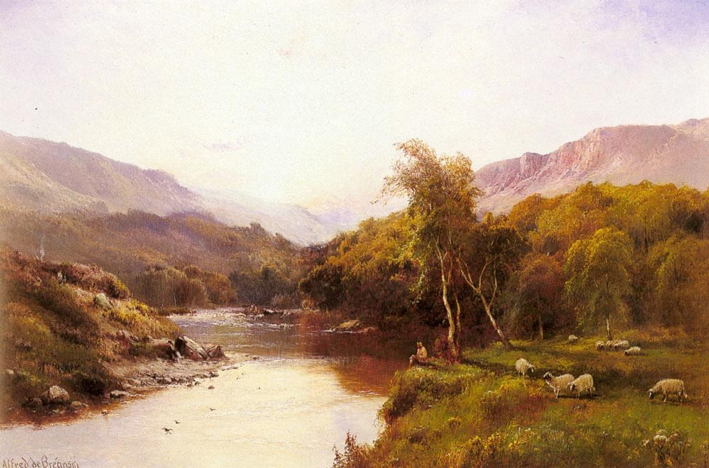 Alfred de Breanski The Golden Valley