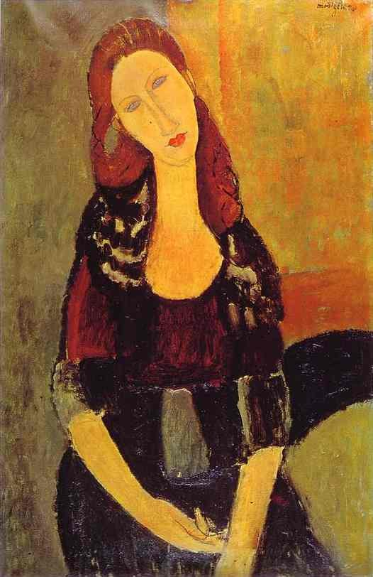 Amedeo Modigliani Portrait of Jeanne Hebuterne