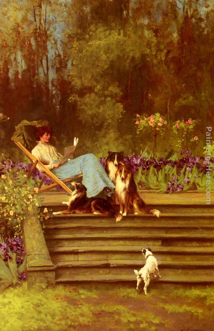 Arthur Wardle Among Friends