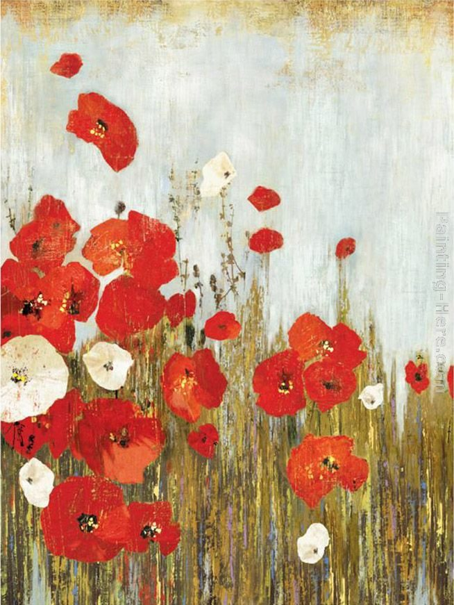 Asia Jensen Poppies in the Wind