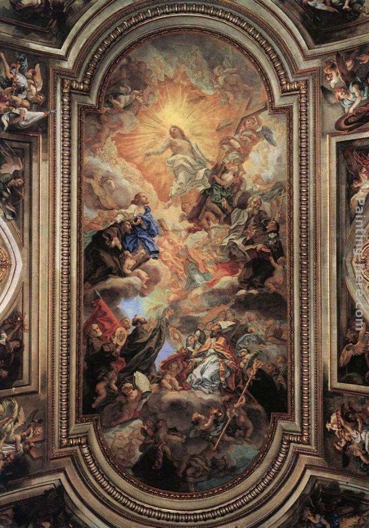 Baciccio Apotheosis of the Franciscan Order